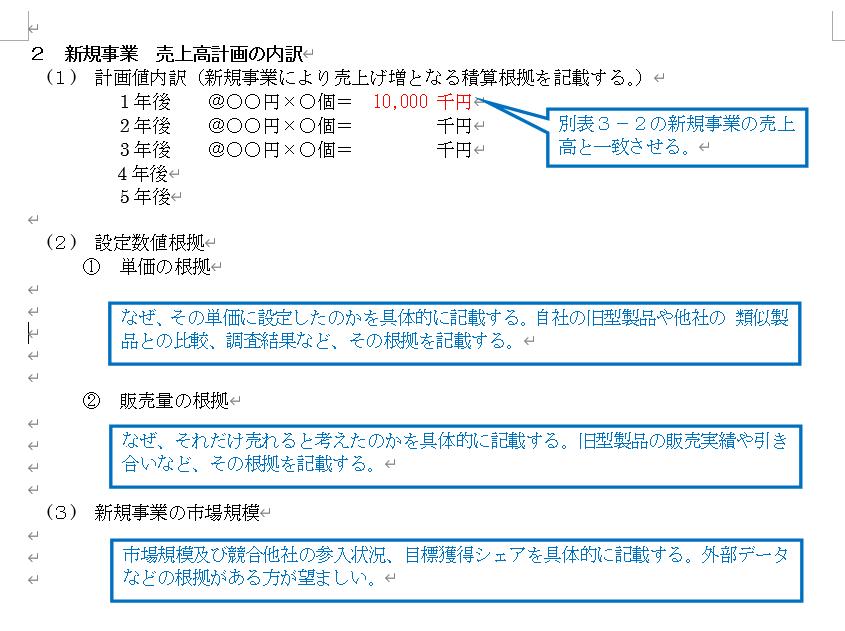 経営計画計画 東村山 東京 書き方